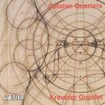 Picture of CD of string quartets by Soler, Roger and Sarda performed by the Kreutzer Quartet