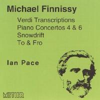 Picture of CD of piano music by Michael Finnissy including the Verdi Transcriptions and Piano Concertos 4 and 6 performed by Ian Pace