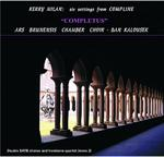 Picture of CD of music for Chamber Choir by Kerry Milan, performed by the Ars Brunensis Chamber Choir of Brno, conducted by Dan Kalousek.