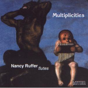Picture of CD of recent work for solo flute performed by Nancy Ruffer