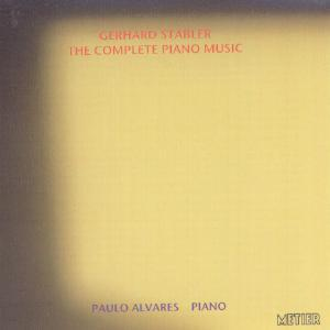 Picture of CD of music for piano by Gerhard Stäbler performed by Paulo Alvares