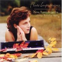 Picture of CD of music for flute, performed by Nina Assimakopoulos