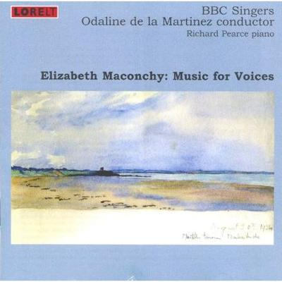 Picture of CD of music for voices by Elizabeth Maconchy, performed by the BBC singers with Richard Pearce, piano, conducted by Odaline de la Martinez