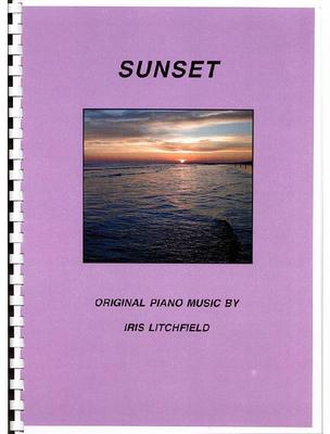 Picture of Sheet music  by Iris Litchfield. SPECIAL PRICE  A book of 32 original piano solos fom grades 3 - 7. Each piece paints a musical landscape and the genre is Classical Contemporary.