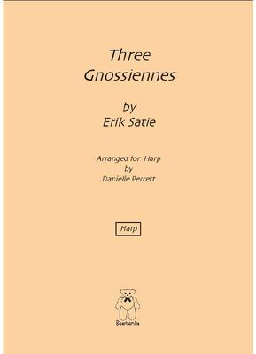 Picture of An arrangement for pedal harp of Satie's much loved short piano pieces.