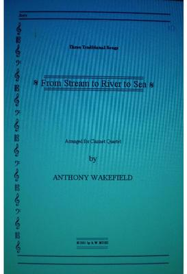 Picture of Sheet music  for clarinet, clarinet, clarinet and bass clarinet by Traditional. For Clarinet Quartet
