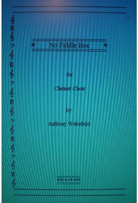 Picture of Sheet music for clarinet choir by Anthony Wakefield - score and parts