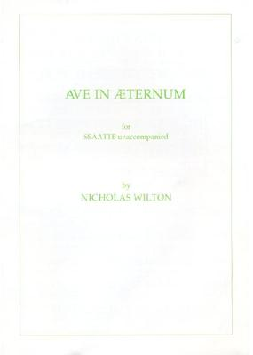 Picture of Sheet music  for chapel choir. Sheet music for unaccompanied SSAATTBB by Nicholas Wilton