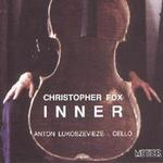 Picture of CD of 'cello music by Christopher Fox performed by Anton Lukoszevieze