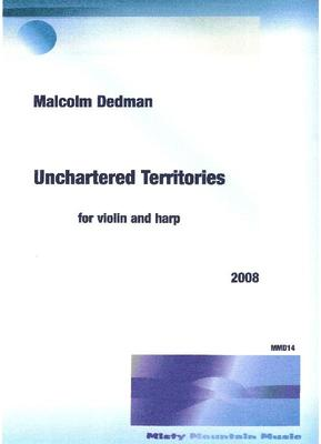 Picture of Sheet music  by Malcolm Dedman. A 6 minute piece for harp and violin, describes my feelings for having moved to the Karoo dessert region of South Africa.
