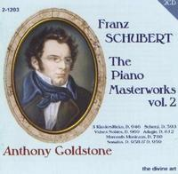 Picture of Second CD of piano music by Franz Schubert, performed by Anthony Goldstone - 2 CD set