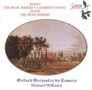 Picture of CD of music for chorus and orchestra by Kodaly and Elgar, performed by the Oxford Orchestra da Camera and the choir of Oxford Orchestra da Camera, conductor Howard Williams
