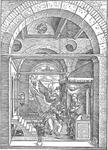 Picture of Sheet music  by Robert Hugill. St. Luke's description of the Annunciation set as a dialogue between soprano and alto soloists, which reflects both the dramatic nature of the Angel's appearance and Mary's quietly meditative response.