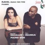 Ravel Music for Two Pianos