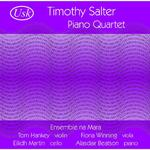 Picture of CD single of piano quartet by Timothy Salter Artist: Ensemble na Mara