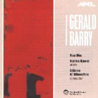 Picture of CD of chamber music by Gerald Barry performed by Nua Nos, Noriko Kawai, conducted by Dairine Ni Mheadhra