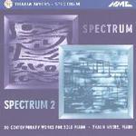 Spectrum: contemporary piano works
