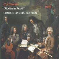 Picture of CD of music by Handel, performed by the London Handel Players