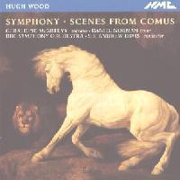 Picture of CD of symphonic works by Hugh Wood performed by Geraldine McGreevy, Daniel Norman and the BBC Symphony Orchestra, conducted by Sir Andrew Davis