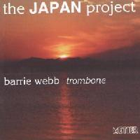 Picture of CD of Japanese music for solo trombone performed by Barrie Webb