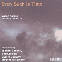 Picture of CD of choral music by British composers performed by Voces Sacrae, directed by Judy Martin