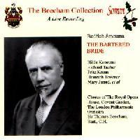 Picture of CD of a live recording of Smetana's The Bartered Bride from Covent Garden, May 1939, with Richard Tauber, conducted Sir Thomas Beecham Artist: Sir Thomas Beecham, Royal Opera House Chorus, London Philharmonic Orchestra and Richard Tauber