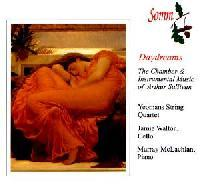 Picture of CD of the chamber and instrumental music of Sir Arthur Sullivan performed by the Yeomans String Quartet and Murray McLachlan, piano