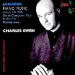 Picture of CD of piano music by Leos Janacek, performed by Charles Owen
