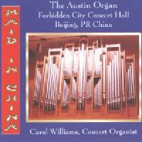 Picture of CD of popular organ music, performed by Carol Williams.