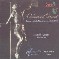 Picture of CD of sacred works by Nicola Porpora performed by Cappella Teatina directed by Saverio Villa