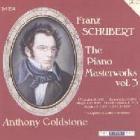 Picture of Third CD of piano music by Franz Schubert, performed by Anthony Goldstone - 2 CD set