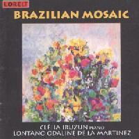 Picture of CD of music for piano by Brazilian composers, performed by Clélia Iruzun