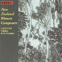 Picture of CD of music for chamber ensemble by four leading women composers from New Zealand, performed by Lontano, conducted by Odaline de la Martinez
