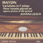 Picture of CD of music for square piano by Josef Haydn, performed by Joanna Leach