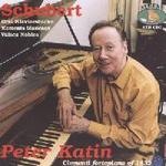 Picture of CD of piano music by Schubert, played by Peter Katin on a square piano