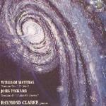 Picture of CD of piano music by William Mathias and John Pickard, played by Raymond Clarke