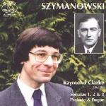 Picture of CD of piano music by Szymanowski played by Raymond Clarke