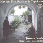 Picture of CD of Haydn piano music played by Joanna Leach on a square piano