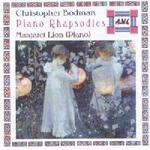 Picture of CD of Rhapsodies for piano by Christopher Bodman, performed by Margaret Lion
