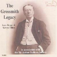 Picture of CD of the songs of George Grossmith performed by Leon Berger (baritone) and Selwyn Tillett (piano)
