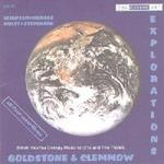 Picture of CD of British 20th and 21st century music for one or two pianos performed by Anthony Goldstone and Caroline Clemmow