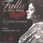 Picture of CD of Manuel de Falla's opera La Vida Breve, with Victoria de los Angeles in the role of Salud
