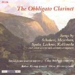 Picture of CD of music for voice, clarinet and piano performed by Eirian James (mezzo soprano), Robert Murray (tenor), Colin Bradbury (clarinet) and Oliver Davies (piano)
