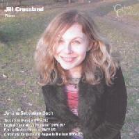 Picture of CD of Bach Keyboard Works, performed by Jill Crossland