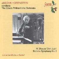 Picture of CD of Jascha Horenstein live at the Montreux Festival 1966, conducting the Czech Philharmonic Orchestra