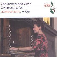 Picture of CD of music for church organ by the Wesleys and their contemporaries, performed by Jennifer Bate
