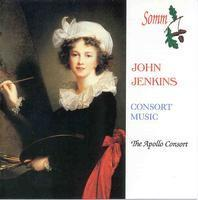 Picture of CD of consort music by John Jenkins, performed by the Apollo Consort, William Thorpe Violin, Margaret Richards, Imogen Seth-Smith Viols, Laurence Cummings Organ