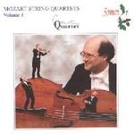 Picture of CD of quartet music by Mozart performed by the Coull Quartet