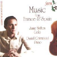Picture of CD of music for cello and piano performed by Jamie Walton and Daniel Grimwood