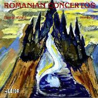 Picture of CD of Trombone Concertos by Romanian composers performed by Barrie Webb with various Romanian ensembles